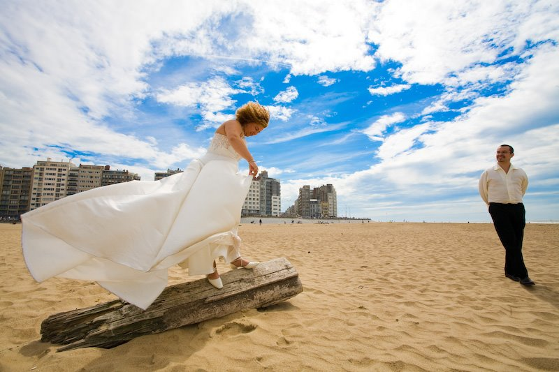 Peggy and Pieter Trash The Dress